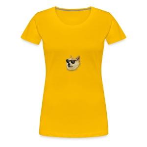 Small Doge - Women's Premium T-Shirt