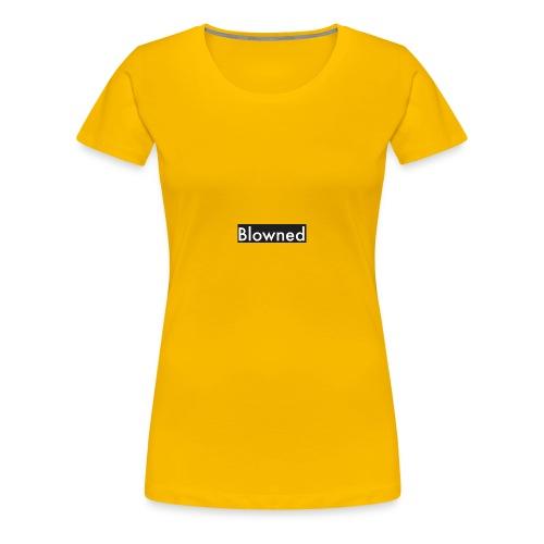 Blowned The Tee - Women's Premium T-Shirt