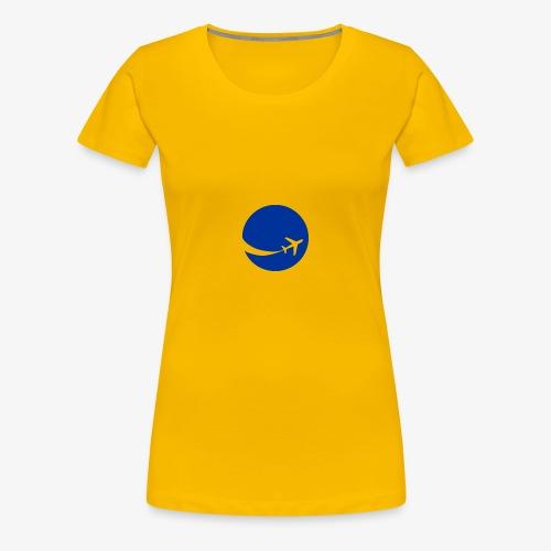 World flyer - Women's Premium T-Shirt