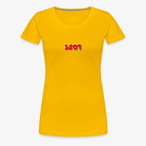 1507 Red/Yellow - Women's Premium T-Shirt