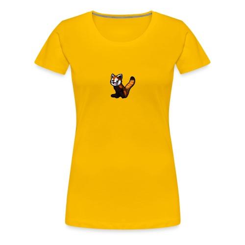 red panda logo - Women's Premium T-Shirt