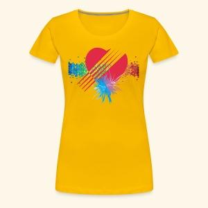 BOOM - RED - Women's Premium T-Shirt