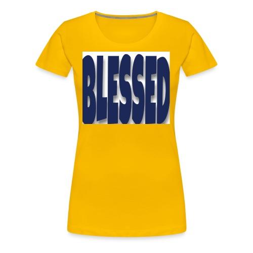 Blessed 2 - Women's Premium T-Shirt