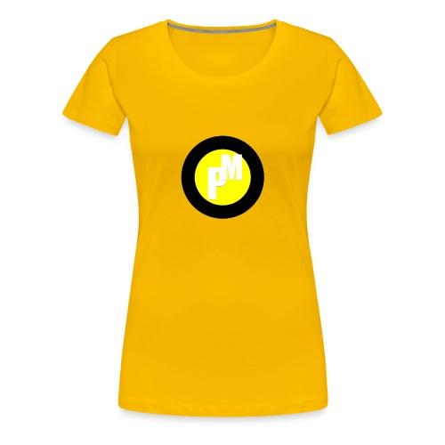 M3ga Merch Yellow - Women's Premium T-Shirt