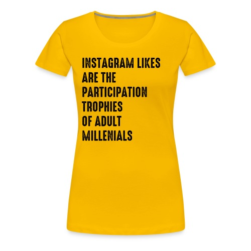 Instagram - Women's Premium T-Shirt