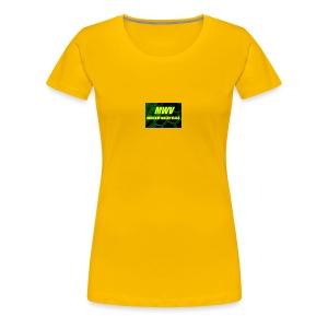 MWV vlogs - Women's Premium T-Shirt