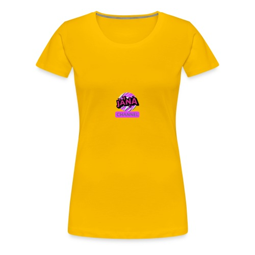 CHANNEL JANA - Women's Premium T-Shirt