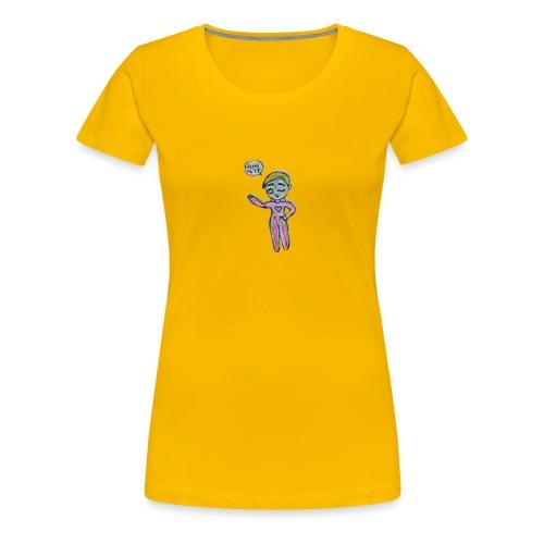 Kawaii Water Bottle - Women's Premium T-Shirt