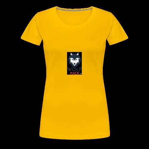Wolf Pack Logo - Women's Premium T-Shirt