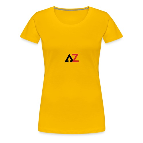 AZ Management logo - Women's Premium T-Shirt