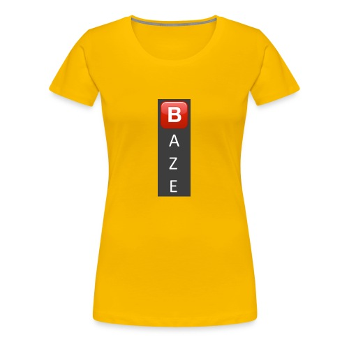 Baze Logo T - Women's Premium T-Shirt