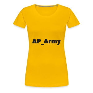 AP_Army hoddies - Women's Premium T-Shirt