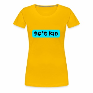 90's KID - Women's Premium T-Shirt