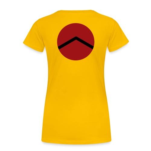 Spartan A - Women's Premium T-Shirt