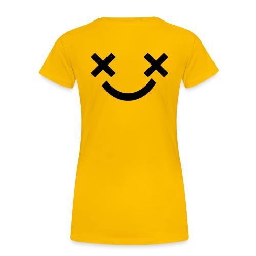 X Eyes Face Design - Women's Premium T-Shirt