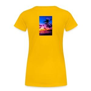 my honeymoon is going to be in Hawaii - Women's Premium T-Shirt