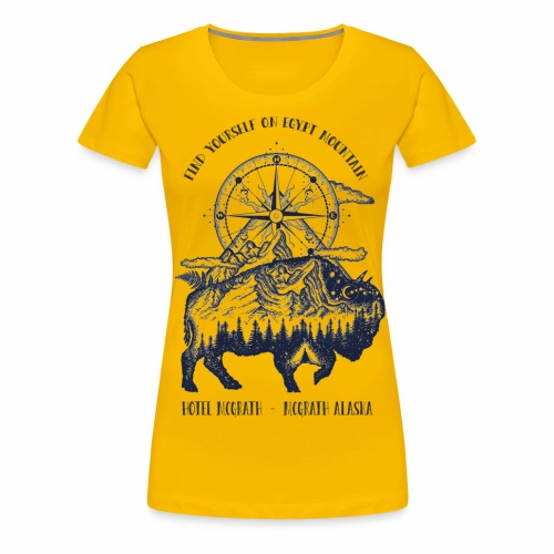 EGYPT MOUNTAIN TSHIRT - Women's Premium T-Shirt