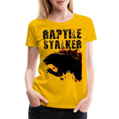 Raptile Stalker - Women's Premium T-Shirt