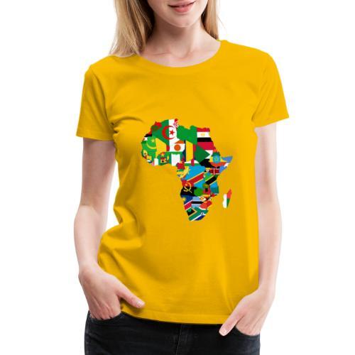 United Africa - Proud Africans - Africa Alliance - Women's Premium T-Shirt