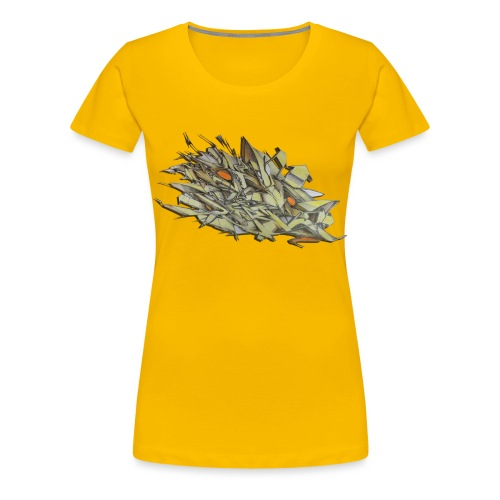 Pensil One - NYG Design - Women's Premium T-Shirt