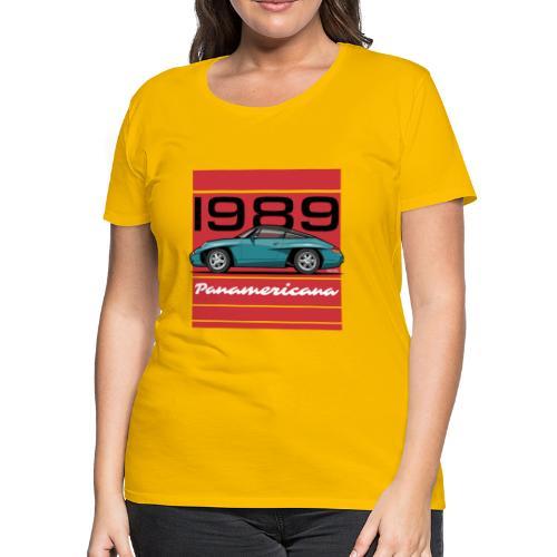 1989 P0r5che Panamericana Concept Car - Women's Premium T-Shirt