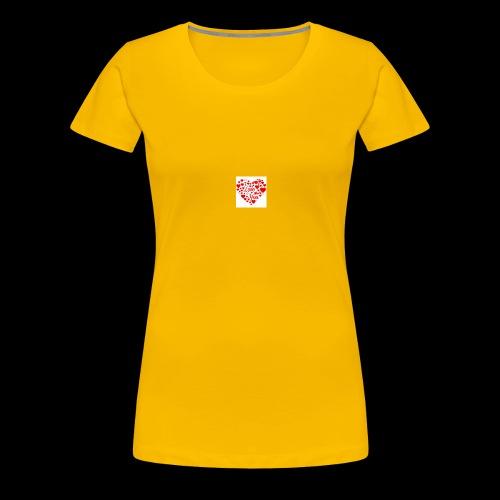 I Love You - Women's Premium T-Shirt