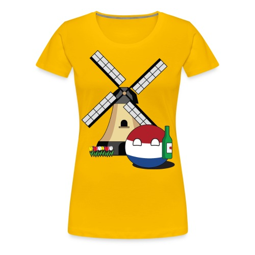 NetherlandsBall I - Women's Premium T-Shirt