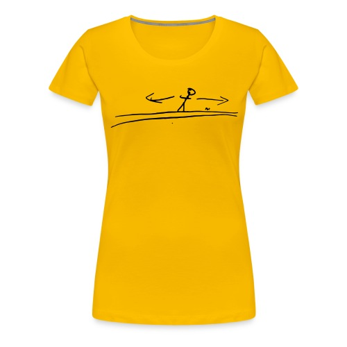 Stranger Things - The Upside Down - Women's Premium T-Shirt
