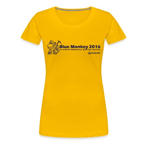 Blue Monkey 2016 T Shirt V1 - Women's Premium T-Shirt