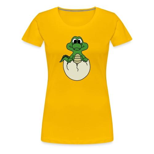 Crock Hatchling - Women's Premium T-Shirt