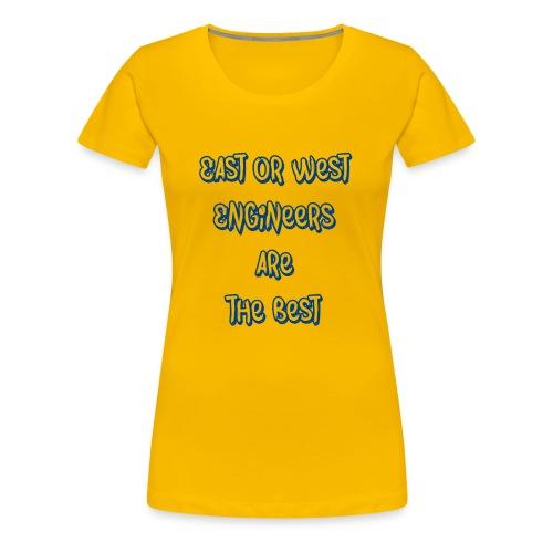 engineers blue - Women's Premium T-Shirt