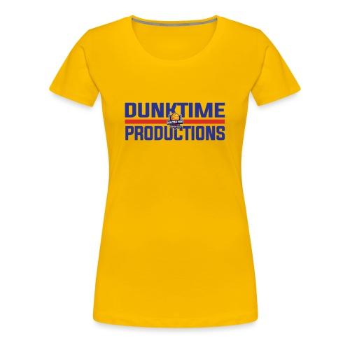 DUNKTIME Retro logo - Women's Premium T-Shirt