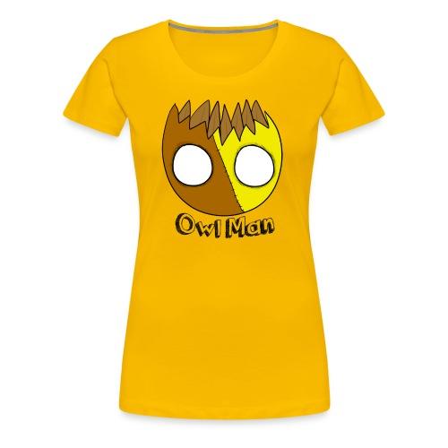 Owl Man T Shirt - Women's Premium T-Shirt