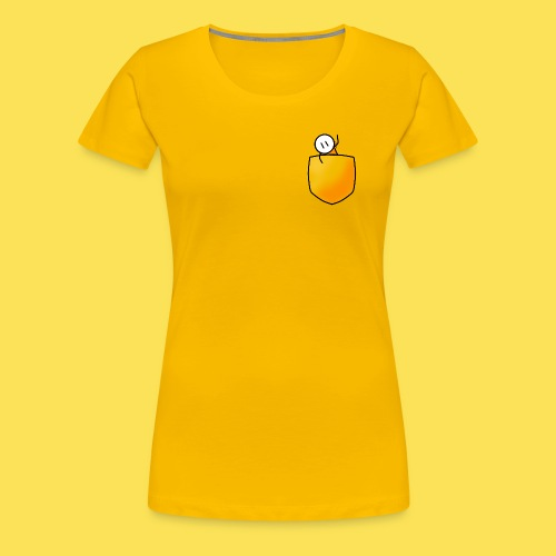 Pocket - Women's Premium T-Shirt