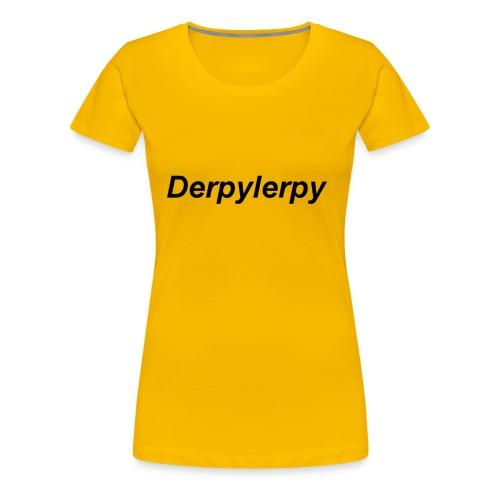 derpylerpy - Women's Premium T-Shirt