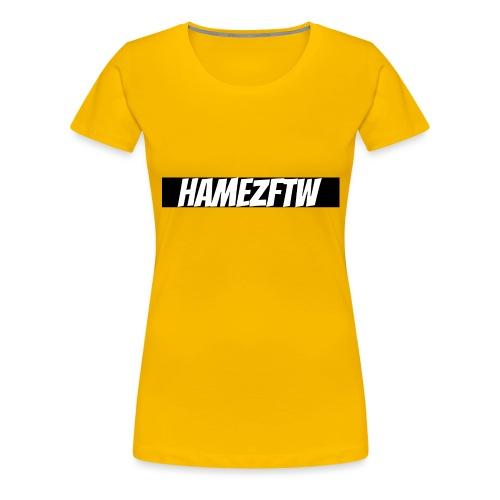 pink-youtube-banner-template_18772 - Women's Premium T-Shirt