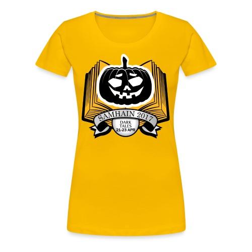 Samhain 2017 Logo shirt - Women's Premium T-Shirt