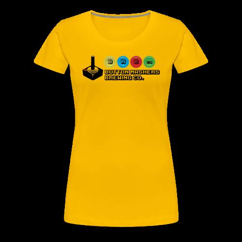 Button Mashers Brewing Co. - Women's Premium T-Shirt