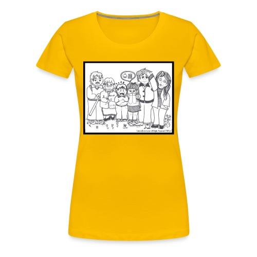 The Extreme Dieters - Women's Premium T-Shirt