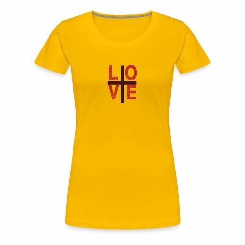 love copy - Women's Premium T-Shirt