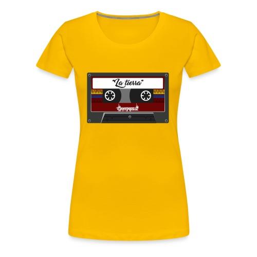 cassette la tierra - Women's Premium T-Shirt