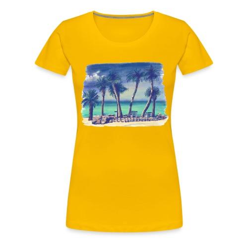Oasis beach - Women's Premium T-Shirt