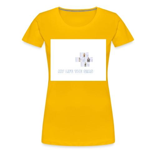 my life the sims - Women's Premium T-Shirt