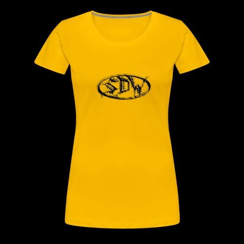 SDW Logo - Women's Premium T-Shirt