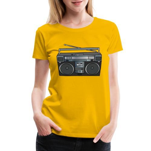 Boombox - Women's Premium T-Shirt