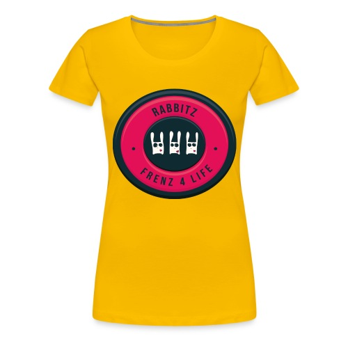Rabbitz - Frenz 4 Life! - Women's Premium T-Shirt