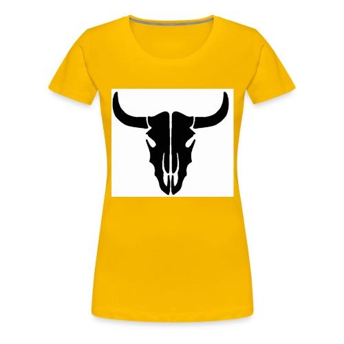 Longhorn skull - Women's Premium T-Shirt
