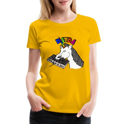 Sir Charles Bitcorn the NightTerror - Women's Premium T-Shirt