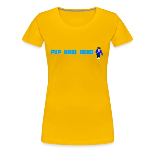 iTzPreston Shirt PvP Raid Redo 2 - Women's Premium T-Shirt