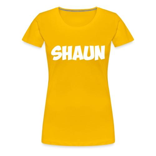 Shaun Logo Shirt - Women's Premium T-Shirt